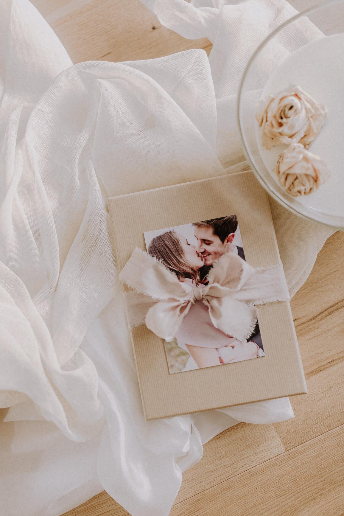 Aufnahme einer Fine Art Hochzeitsbox von Julia Adlhoch