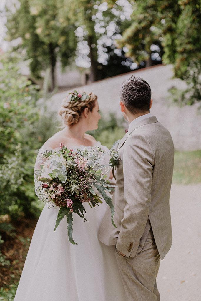 Fine Art Photo von Braut und Bräutigam