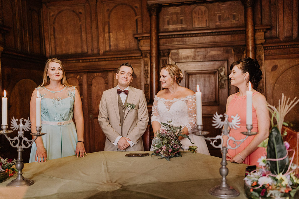 Brautpaar sagt Ja!