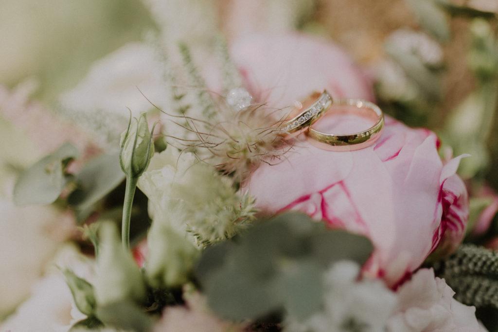 Detailfoto der Ringe