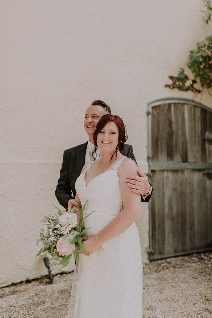 Brautpaar Portraits mit märchenhaften Sommerwetter