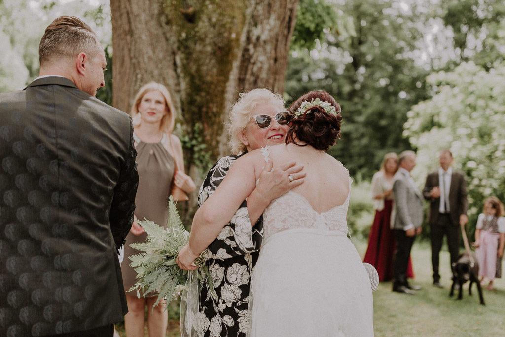 Glückwünsche der Hochzeitsgäste